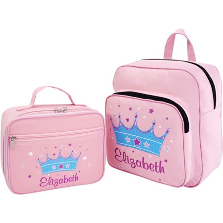 Personalized Princess Backpack and Lunch Bag - Walmart.com e3950c0b42068