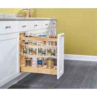 Rev-A-Shelf Wood Base Cabinet Pull Out Pantry