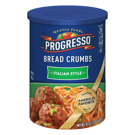 (3 Pack) Progresso Italian Style Bread Crumbs, 40 (Chicken Parmesan Bread Crumbs)