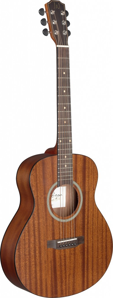 James Neligan DEV-A MINI DEVERON Series Auditorium Acoustic Travel Guitar by James Neligan