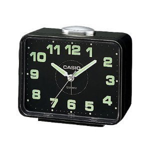casio tq218 1 table top travel alarm clock. Black Bedroom Furniture Sets. Home Design Ideas
