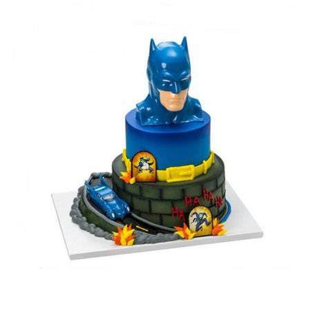 Wal Mart Bakery Batman To The Rescue Signature Cake DecoSet