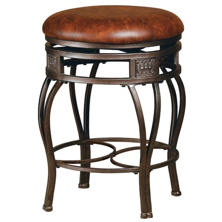 Hillsdale Furniture Montello Backless Swivel Bar Stool ()