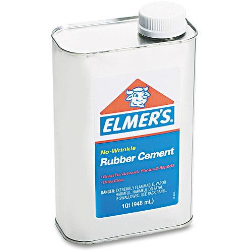 Elmer's Rubber Cement, 1 qt
