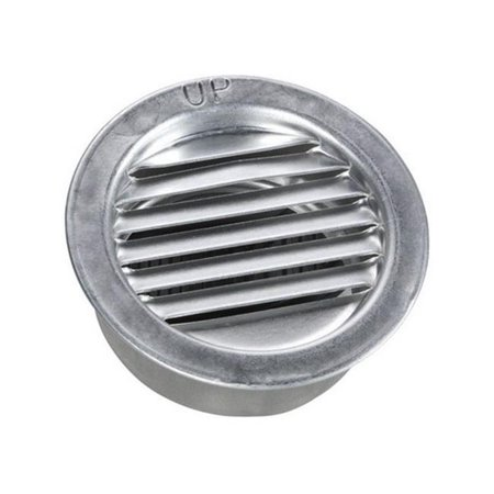 Air Vent Inc 2 Mill Mini Aluminum Louver 50001