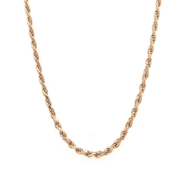 YGI FMC4012Y-22 14k Yellow Gold Hollow DC Rope 030 Chain - 22 in.