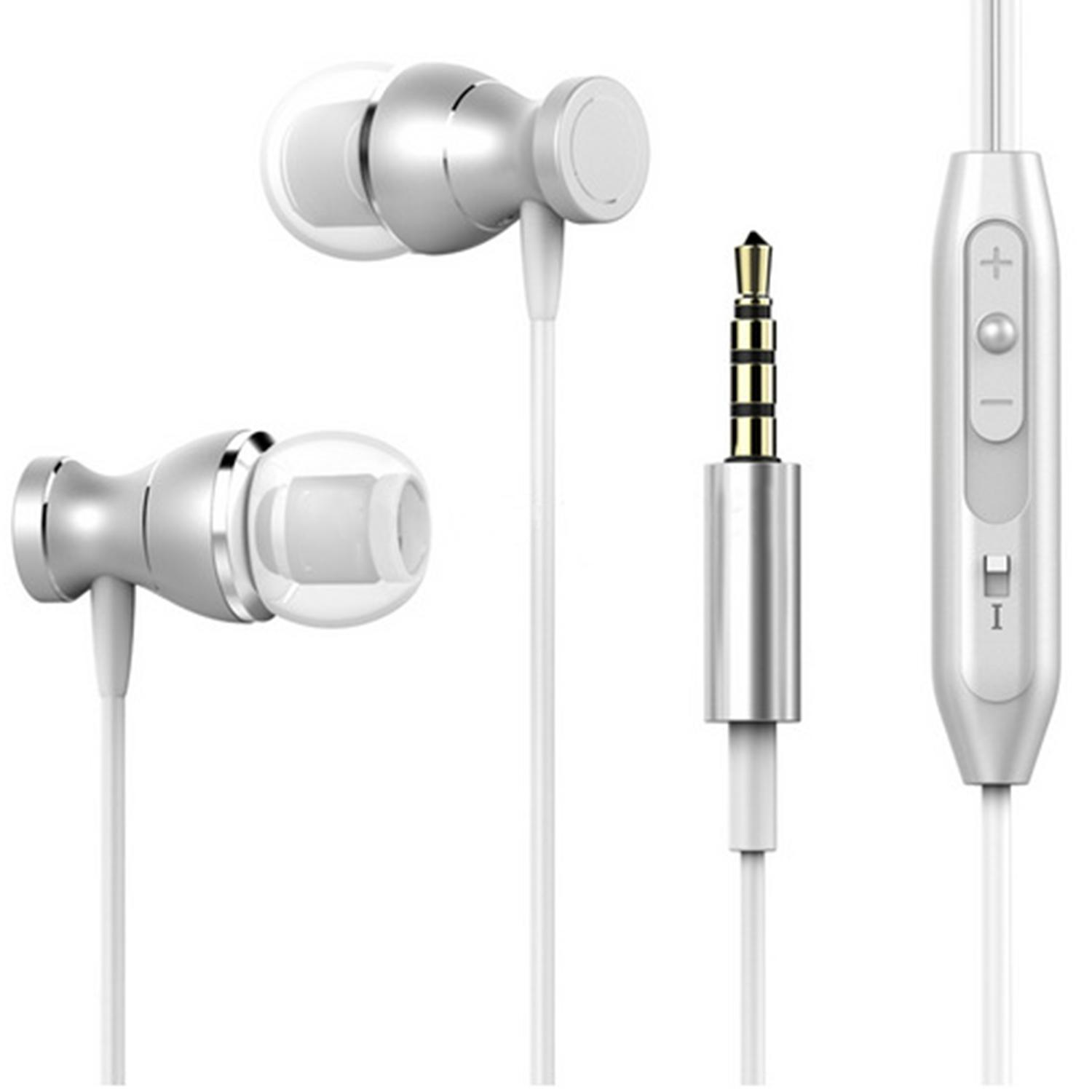 Noise Isolating in Ear Headphones Earphones with Pure Sound and Powerful B ass for iPhone, iPad, iPod, Sam sung Smartphones and Tablets Elec