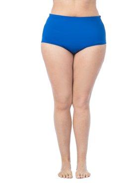 aea129061262f Product Image La Blanca Women s Plus Size Island Goddess Solid High Rise  Pant Swim Bottom