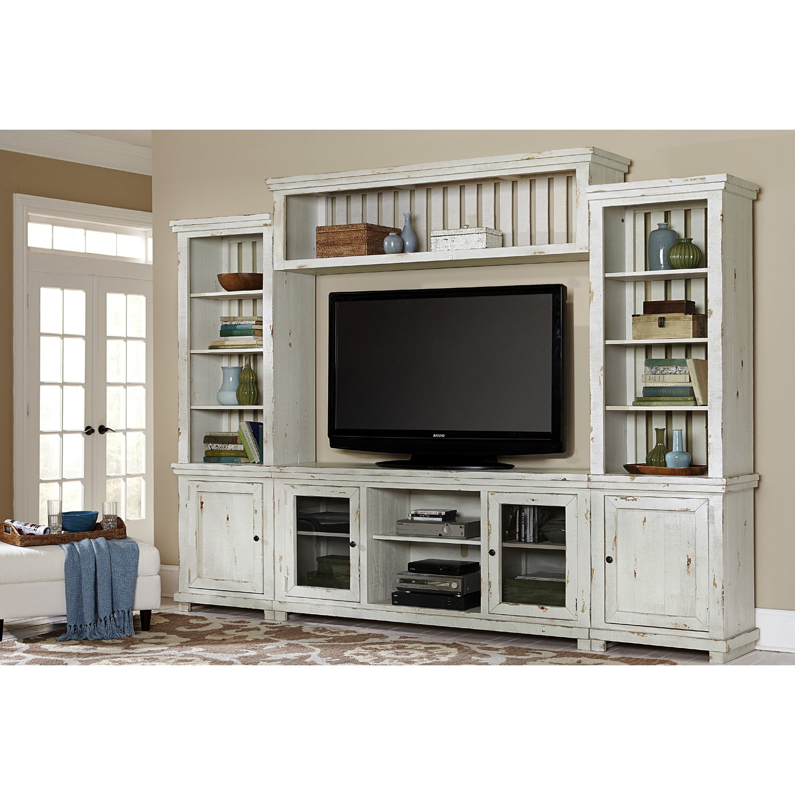Progressive Furniture Willow Complete TV Wall Unit
