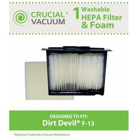 Dirt Devil F13 Filter & Foam, Part # 3LK0540001 - image 1 de 1