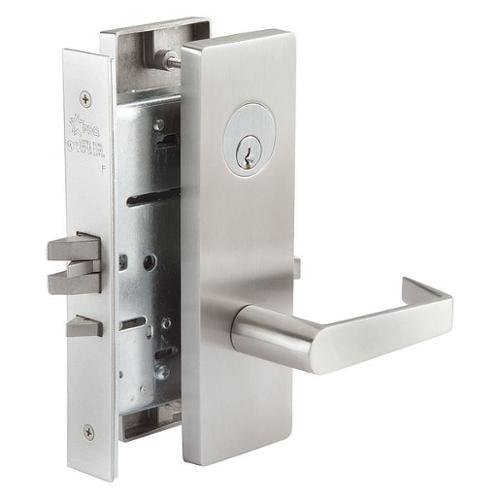 PDQ MR176PJEW630RHCLDSCC Mortise Lockset,Privacy,Curved Lip,EHD G9361947
