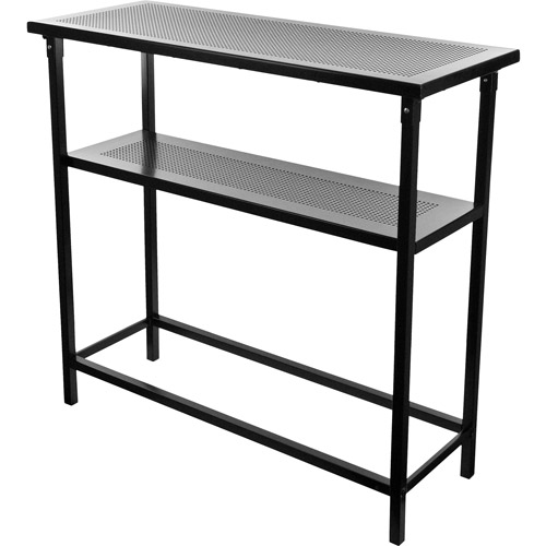 Deluxe Metal Portable Bar Table with Carrying Case