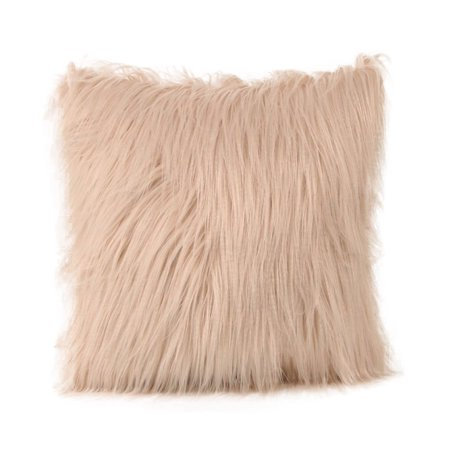 Plush Furry Cushion Cover Throw Pillow Case Home Bed Room Sofa Decor ()