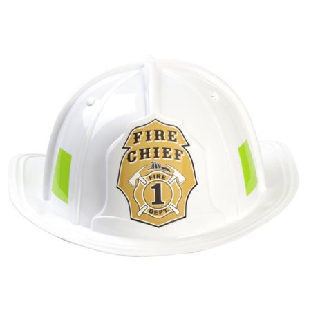 Aeromax, Inc FW-HELMET Jr Firefighter, Helmat Only Adjustable, White - Youth Size - image 1 of 1