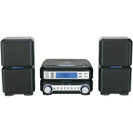 Naxa NS-438 Digital CD Microsystem with AM/FM Stereo Radio
