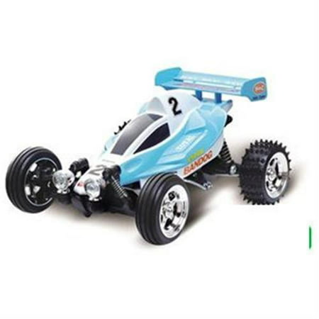 Microgear EC10253-2X Radio Controlled RC Mini Buggy Blue Red