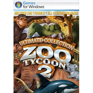 Microsoft - AXB-00065 - Microsoft Zoo Tycoon 2 Ultimate Collection - Simulation Game - DVD Case - CD-ROM - PC