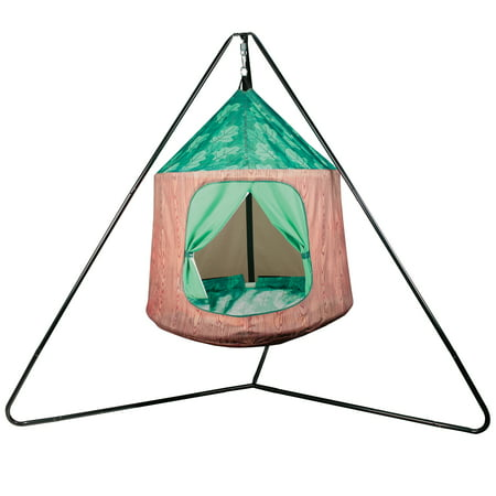 "Crckt Kids Indoor/Outdoor Hanging Tent, 350lb Capacity, 43.3"" x 70.9"""