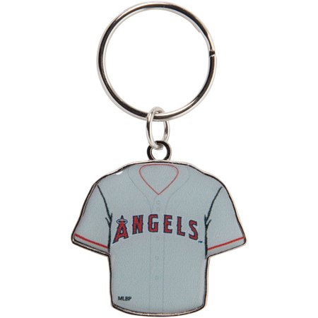 Los Angeles Angels Reversible Home/Away Jersey Keychain - No Size