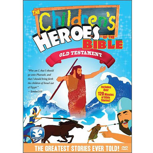 The Children's Heroes Of The Bible: Old Testament (Full Frame)