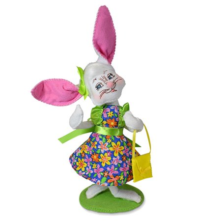 Annalee Dolls 2019 Spring Easter Girl Bunny 6in Plush New with (Best Girls Toys 2019)