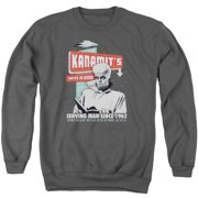 Twilight Zone Kanamits Diner Mens Crewneck Sweatshirt
