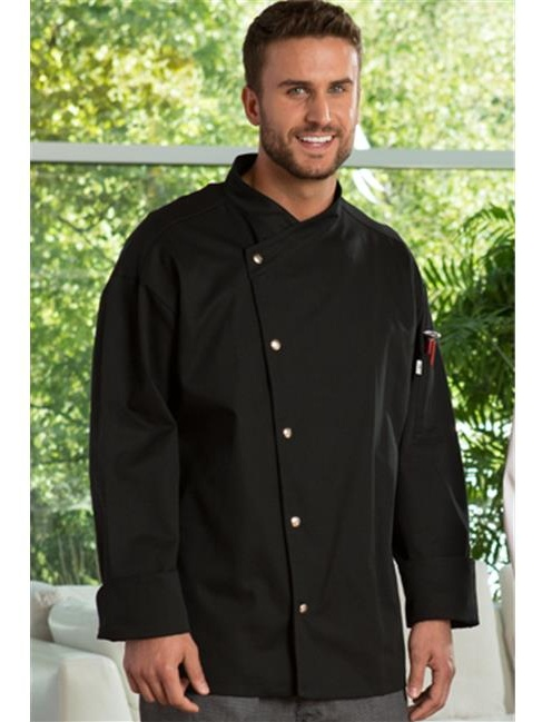 vtex 0492-2506 caliente chef coat, white, 2x large