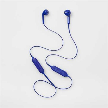 Blue Wireless Ear Buds - heyday Wireless Bluetooth Earbuds Blue