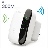 Wifi Repeater, EEEKit 300Mbps 802.11n Wireless Wifi WLAN Range Extender Repeater AP Router Signal Amplifier Booster with LED Indicator