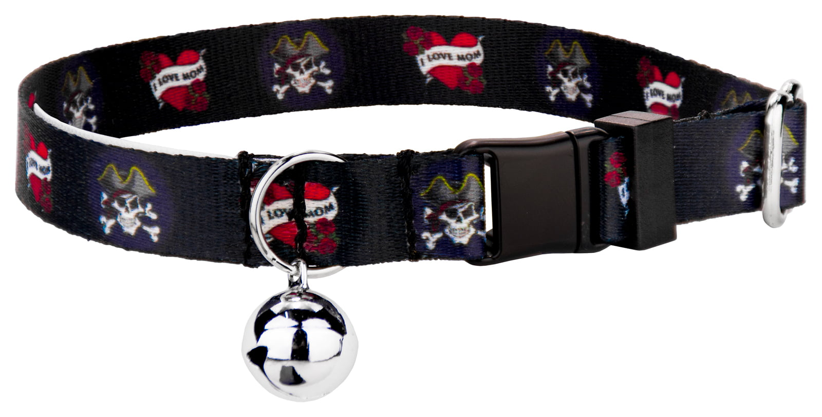 """Country Brook Petz """"I Love Mom"""" Featherweight Cat Collar by Country Brook Design"""