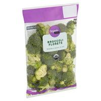 Marketside Organic Broccoli Florets, 12 oz