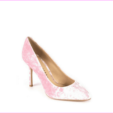 Katy Perry The Sissy Crushed Velvet Cameo Rose Pump, Size 5.5 M