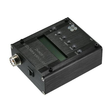 MR300 Digital Shortwave Antenna Analyzer Meter Tester 1-60MHz RF SWR for Ham Radio with BT - image 5 de 7