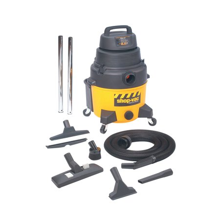 Shop-Vac Industrial Super Quiet Wet/Dry Vacuums, 8 gal, 6 1/2