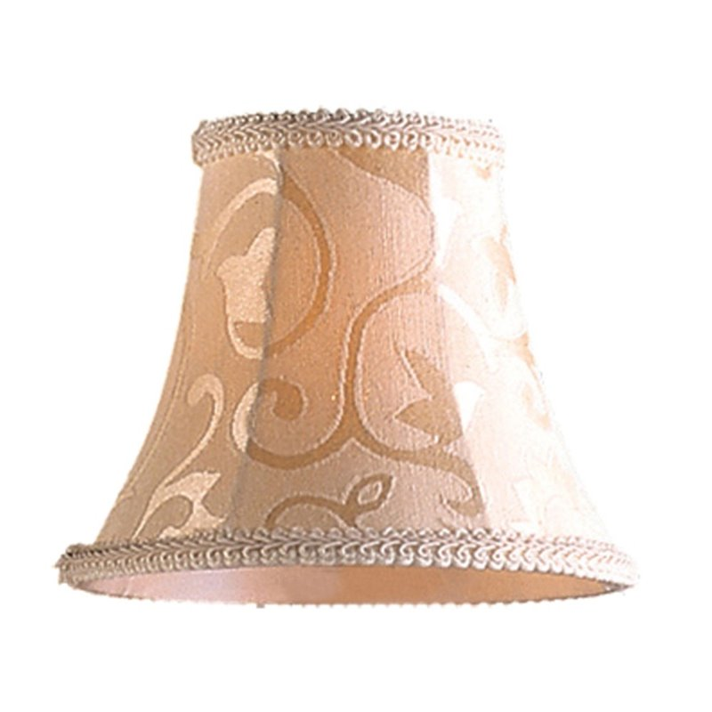 Elk Lighting Elizabethan Mini Lamp Shade in Patterned Beige