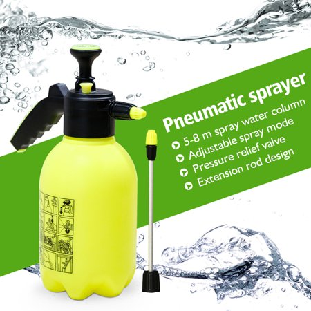 0.5 Gal / 2L Lawn & Garden Sprayer Portable Pressure Sprayer Garden Spray Bottle Plant Water Sprayers
