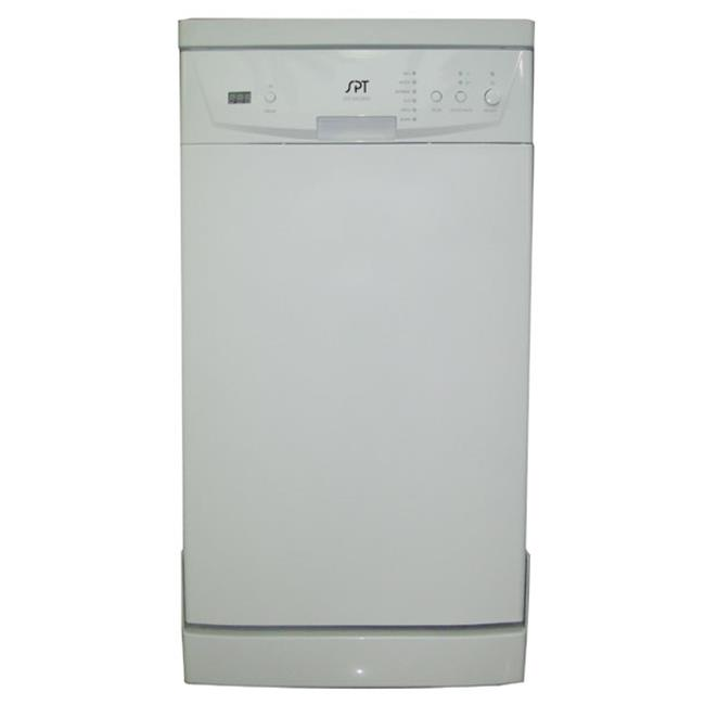 18 in. Portable Dishwasher White by MegaMixer