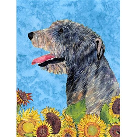 Carolines Treasures SS4139CHF 28 x 40 In. Irish Wolfhound Flag Canvas, House Size - image 1 of 1