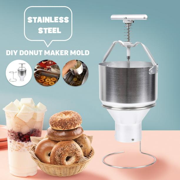 Pastry Bakeware Making Donut Depositor Dropper Dough Batter Dispenser Hopper