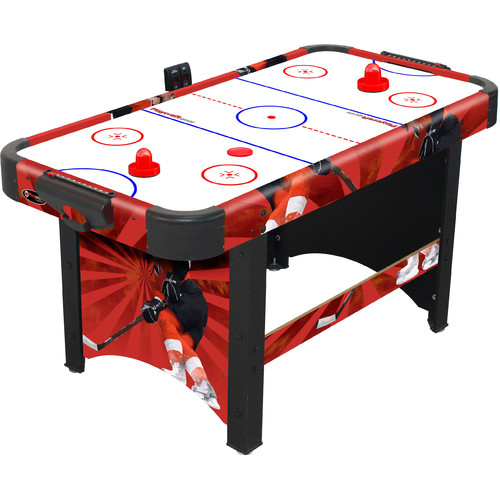 Playcraft Sport Shoot Out Plus Air Hockey Table, Red