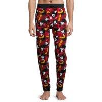 Disney Mens Mickey Buffalo Plaid Pajama Pants