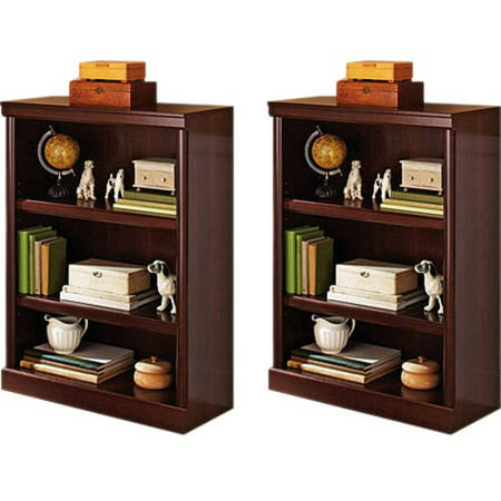 Better Homes and Gardens Ashwood Road 3-Shelf Bookcase, Set of 2, (Mix and Match) Dining Room Set Bookcase