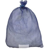 ZORO SELECT ID245111 Laundry Bag,Blue,Rubber Closure,PK12