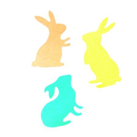 Joyfeel Clearance Three Rabbits Cutting Dies Stencils Scrapbook Album Embossing Card DIY Craft Decorative