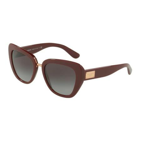 Dolce & Gabbana DG4296 30918G Bordeaux Butterfly Sunglasses