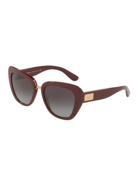 ae0b39a1c407 Product Image Dolce & Gabbana DG4296 30918G Bordeaux Butterfly Sunglasses