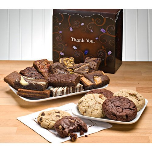 Fairytale Brownies Thank You Cookie and Sprite Combo Gift Box