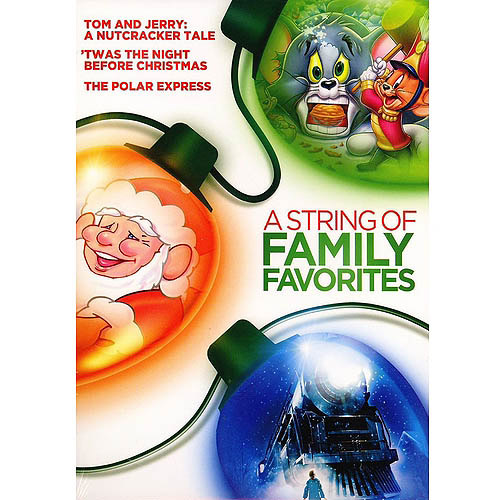 A String Of Family Favorites: Tom And Jerry: A Nutcracker Tale / Twas The Night Before Christmas / The Polar Express (3-Pack)