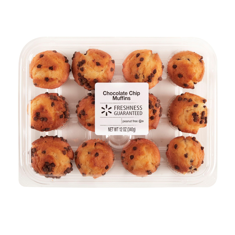 Chocolate chip muffins mini recipe
