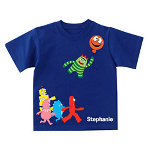 Personalized Yo Gabba Gabba! Balloon Getaway Toddler Boy T-Shirt